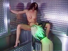 Best pornstar in incredible brunette, lesbian adult movie
