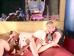 Amazing Cunnilingus, Threesome adult video