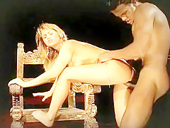 Blond Agatha Rides Cock Like She Owns It