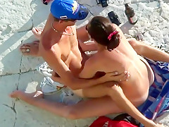 Incredible Beach porn scene