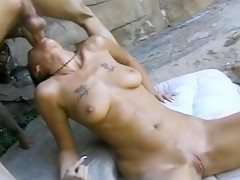 Peachy Red Head Gets Hard Cock Fuck