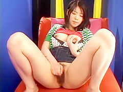 Hottest Japanese chick Tsubaki Hime in Best Hairy, Dildos/Toys JAV scene