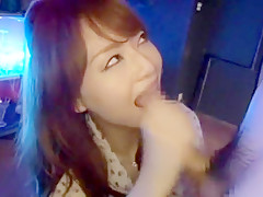 Horny Japanese whore Akiho Yoshizawa in Exotic Voyeur, Public JAV movie