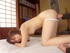 Amazing Japanese chick Chisato Hirayama in Best Fingering, Masturbation JAV scene