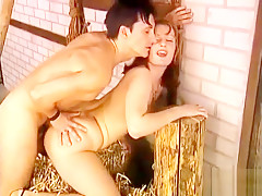 Lustful housewife with big tits Maria has an affair with a young stud