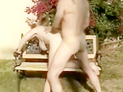 Crazy BBW, Outdoor sex movie