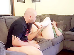 Licking feet  sucking toes  and eating pussy- cheating