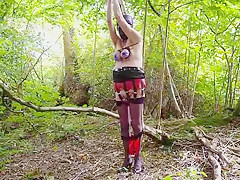 Amazing homemade Outdoor, Fetish adult video