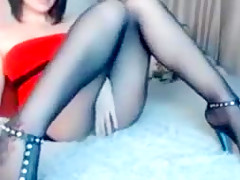 Exotic Masturbation, Latex sex video