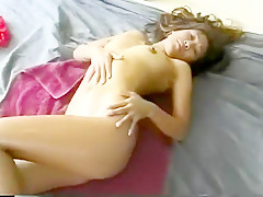In a wonderful display of sexuality, Raquel reveals her slender body