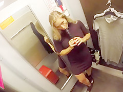 Mall store changing room
