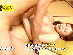 Best Japanese chick Riko Aduchi in Horny Stockings, Close-up JAV video