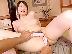 Fabulous Japanese slut Rie Tachikawa in Exotic Masturbation, Big Tits JAV scene