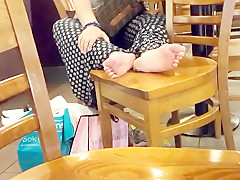 Big feets sexy soles hot long toes nails