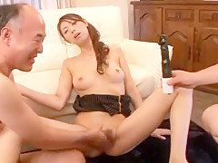 Hottest Japanese chick Yuu Asou in Exotic Blowjob, Amateur JAV video