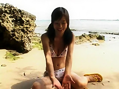 Horny Japanese slut Kaho Kasumi in Exotic Big Tits, Outdoor JAV scene
