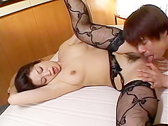 Crazy Japanese model Miki Kanzaki in Incredible Cunnilingus, Big Tits JAV scene