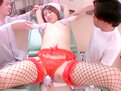 Best Japanese slut Hitomi Kitagawa in Amazing Stockings, Masturbation JAV video