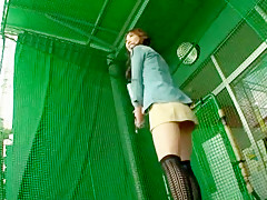 Horny Japanese whore Rise Nagai in Best Voyeur, Upskirt JAV scene