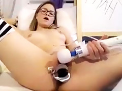 Her pussy gets so wet the second she cums