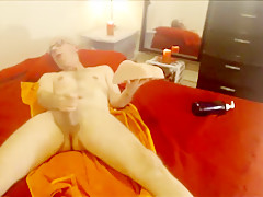 Moaning Slow Fuck - Realistic Sex Toy Cumming Very Hard