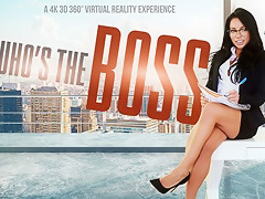 Morgan Lee in Who's The Boss - VRBangers