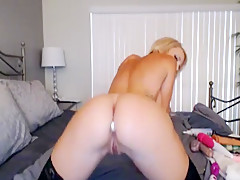 My pretty roomate sierra plays with her pussy