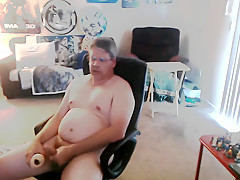 PULL SHORTS UP, DOCTOR LEGS AND MASTURBATION WITH A BLOWJOB TOY CUMMING CUM