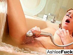 Ashlee Graham in Ashlee Graham Fucks Herself In A Glitter Filled Tub - AshleeGraham