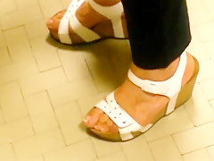 Candid Wedges In Post Office