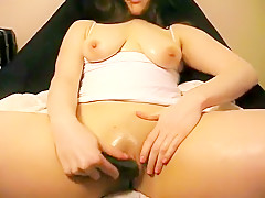Teen girl masturbates all day, cumming over and over