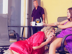 Cory Chase & Evelin Stone in The Nympho Milf Awakens - MomsLickTeens