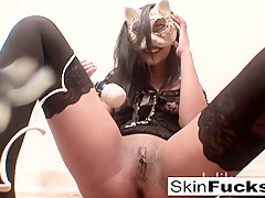 Skin Diamond in Very Naughty Pussy Play With Skin Diamond - SkinDiamond