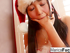 Marica Hase in Japanese Christmas Style Celebration With Marica's Solo - MaricaHase