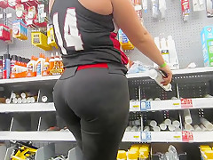 Athletic PAWG Softball player ASS