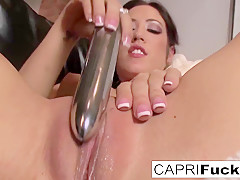 Capri Cavanni in Sexy Capri Loves To Play With Herself - CapriCavanni
