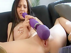 Brunette Milf Drills Her Butthole With Dildo