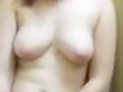 60fps - Haley Masturbating in a Changing Room